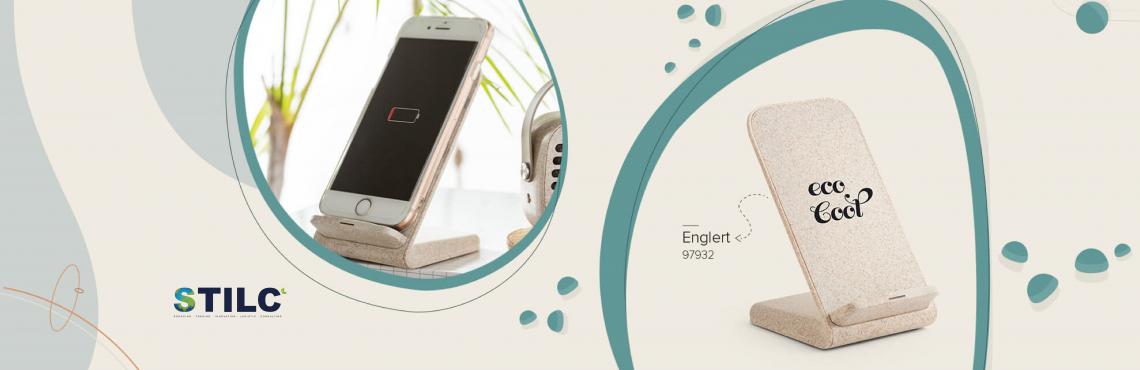 chargeur de téléphone portable induction recyclé écologique