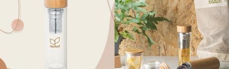 bouteille verre thé écologique developpement durable